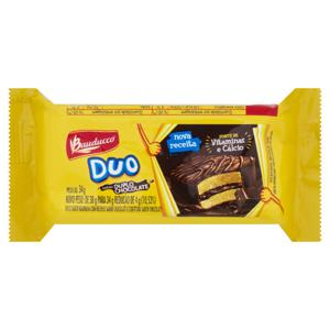 Bolo Duplo Chocolate Bauducco Duo Pacote 34g