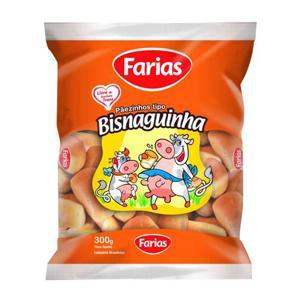 Bisnaguinha Farias 300G Pç Sug 3,59