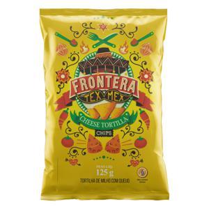 Tortilha Chips de Milho Queijo Frontera Tex Mex Pacote 125g