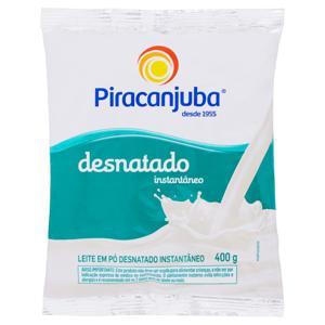 Leite em Pó Instantâneo Desnatado Piracanjuba Pacote 400g