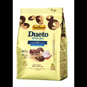 Biscoito Vale D'ouro 200g Dueto Chocolate com Coco