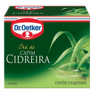 Chá DR.OETKER Capim Cidreira 10g