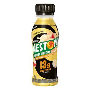 Bebida Láctea UHT Banana e Maçã Nestlé Neston com Whey Protein Frasco 280ml