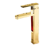 Misturador de Vidro 30 X 25cm Dourado GENOVA