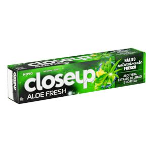 Gel Dental Aloe Fresh Closeup Caixa 90g