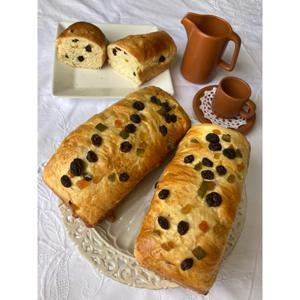 Pão com frutas 300g - Di Vó