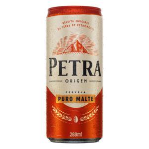 Cerveja Puro Malte Petra Origem Lata 269ml