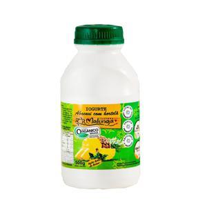 Iogurte 500Ml Malunga Organico Abac/Horte