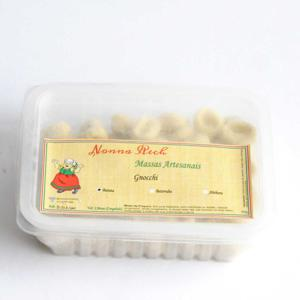 Nhoque de espinafre congelado 400g - Nonna Rech