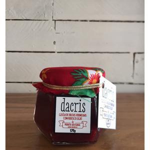 Geléia de frutas vermelhas com hibisco 200g - Dacris