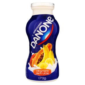 Iogurte Integral Vitamina de Frutas Danone Frasco 170g