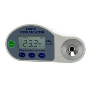 Refratômetro Digital 0-35 Brix