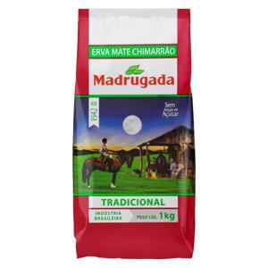Erva-Mate Chimarrão Tradicional Madrugada Pacote 1kg