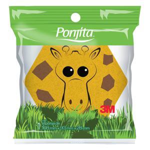 Esponja para Banho kids Ponjita Animais