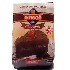 Mistura para Bolo EMEGE Chocolate 450g