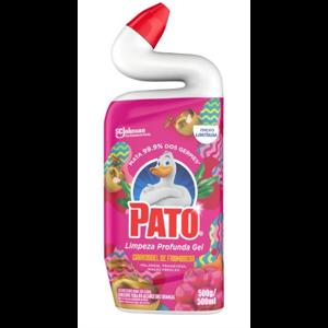 Desinfetante Pato 500ml Gel Limpeza Profunda Carrossel de Framboesa