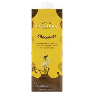 Bebida à Base de Castanha Choconuts A Tal da Castanha Caixa 1l