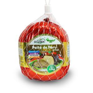 Peito De Peru De Soja Goshen 1,5Kg