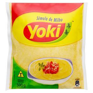 Sêmola de Milho Yoki Pacote 500g