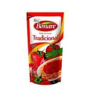 Molho de Tomate BONARE Tradicional Sachê 340g