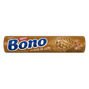 Biscoito Recheio Doce de Leite Nestlé Bono Pacote 126g
