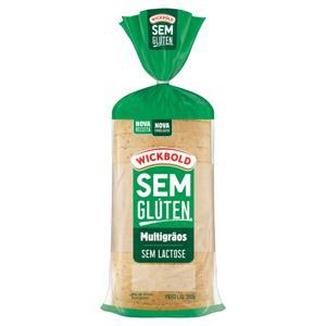 Pão de Forma Multigrãos sem Glúten Zero Lactose Wickbold Pacote 300g