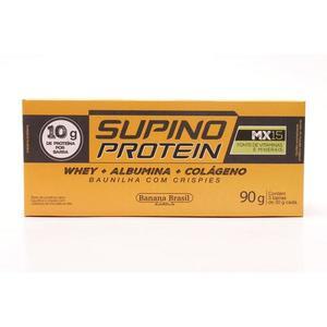 Barra Protein SUPINO Baunilha 3x30g