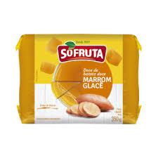 Doce Marrom Glace Sofruta 350G Bl