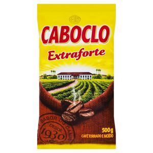 Café Torrado e Moído Extraforte Caboclo Pacote 500g