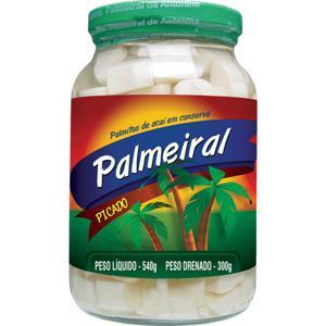 Palmito Palmeiral Picado 300gr