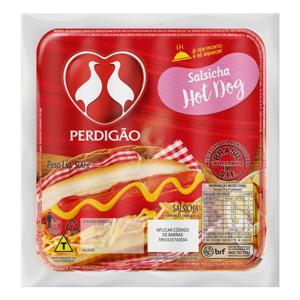 Salsicha Hot-Dog Perdigão 500g 12 Unidades