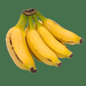 Banana Prata (500G)- Orgânica ( podem vir verdes)