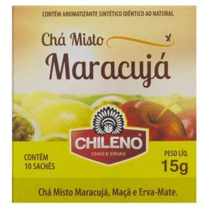 Chá Misto Maracujá Chileno Caixa 15g 10 Unidades