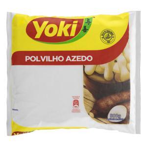 Polvilho Azedo Yoki Pacote 500g