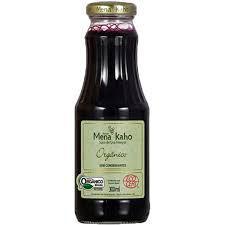 Suco de Uva Integral Orgânico MENA KAHO 300ml