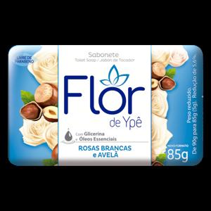 Sabonete Flor De Ype Suave 85G Rosas Brancas E Avelã
