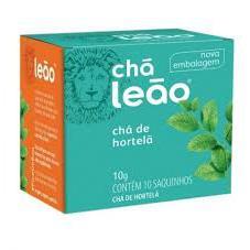 Chá LEÃO Hortelã 10 saquinhos