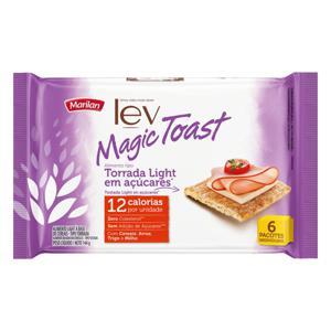 Torrada Light Marilan Lev Magic Toast Pacote 144g