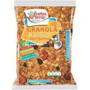 Granola 9 Grãos FRUTOS DA TERRA 1Kg
