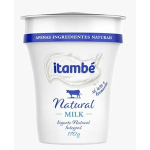 Iogurte Natural ITAMBÉ Milk 170g