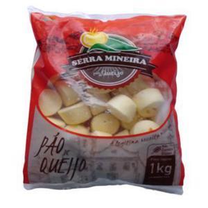 Pão De Queijo Serra Mineira 1Kg congelado