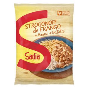 Strogonoff de Frango com Arroz e Batata Sadia Pacote 350g