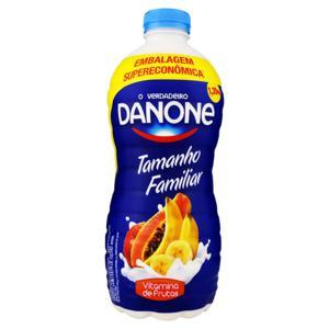 Iogurte Integral Vitamina de Frutas Danone Garrafa 1,35kg Embalagem Supereconômica