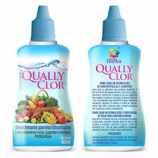 Desinfetante Hortifruti QUALLY CLOR 60ml