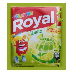 Gelatina em Pó Limão Royal 25g