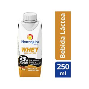 Bebida Láctea Whey Piracanjuba Pasta de Amendoim 250ml