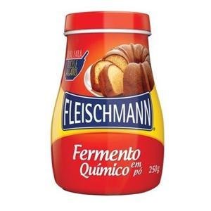Fermento Quimico Em Po Fleischmann 250G