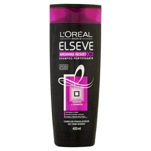 Shampoo 400ml Elseve Arginina Resist X3