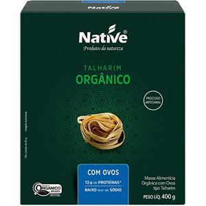 Talharim com Ovos Orgânico Native 400g
