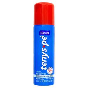 Desodorante Aerossol para Pés Baruel Tenys Pé Original Frasco 150ml